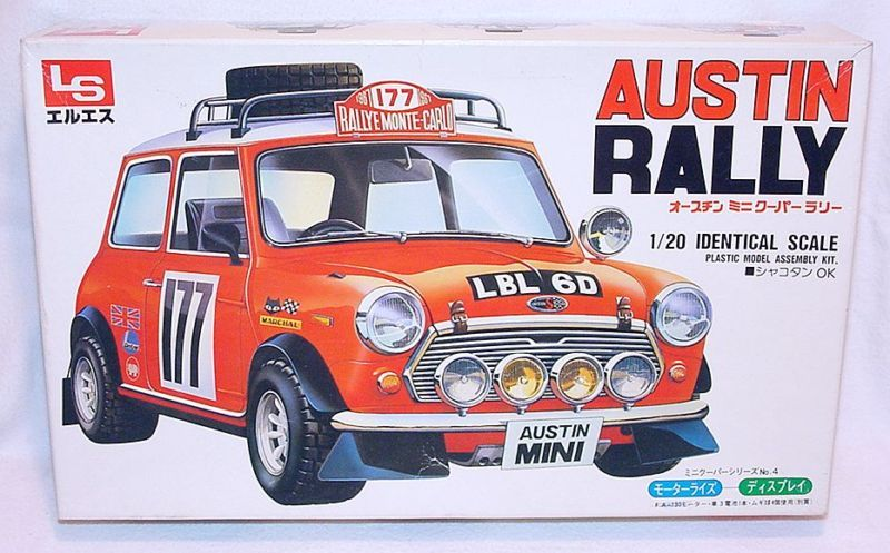 LS 120 AUSTIN MINI COOPER 177 MONTE CARLO Car Kit MIB